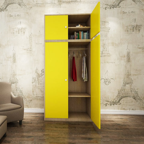 Christin Kids Wardrobe - Solid Plywood