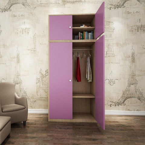 Jenny Kids Wardrobe - Solid Plywood