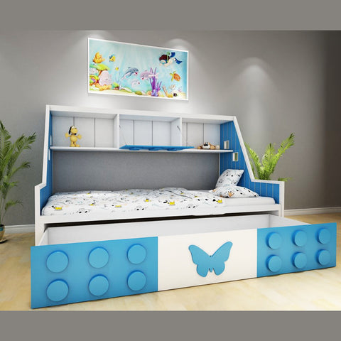 Sikara Kids Bed - Solid Plywood