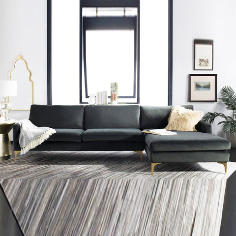 John Right Aligned Sectional Sofa -3 Seater - FurnLane - Bespoke Luxury