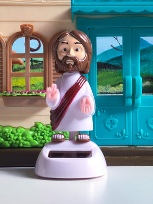 Solar Dancing Jesus - Desk and Car Accessories