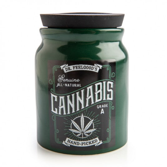 Large Cannabis Stash It Jar