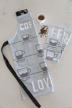 Coffee Lovers Apron - Quirky Kitcheware