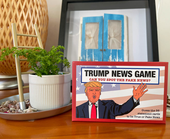 Fake News Game- The Donald