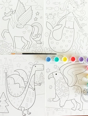 Paint By Numbers - Art Activities For Kids