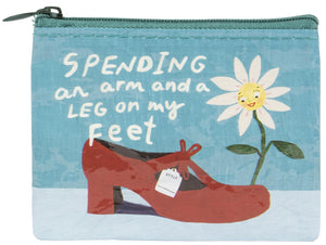 Spending An Arm And A Leg - Quirky Coin Purses
