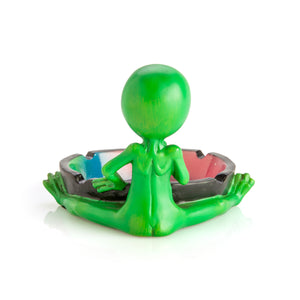 Stoned Alien Ashtray - Quirky Novelty Gifts