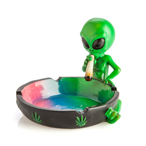 Stoned Alien Ashtray - Quirky Stoner Accessories