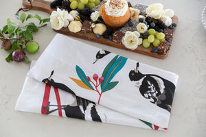 Bird print kitchen accessories