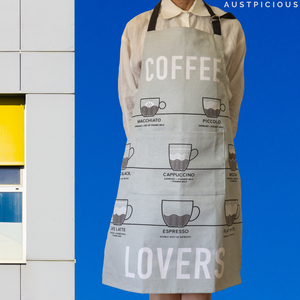 Coffee Lovers Apron - Unique birthday gifts for women