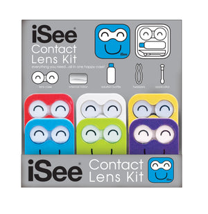 Contact Lens 5 in 1 Travel Kit