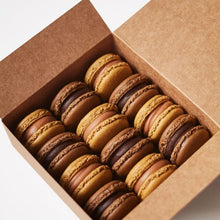 Load image into Gallery viewer, Mixed box of chocolate flavour macarons