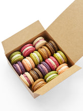 Load image into Gallery viewer, Mixed box of monthly seasonal flavour macarons