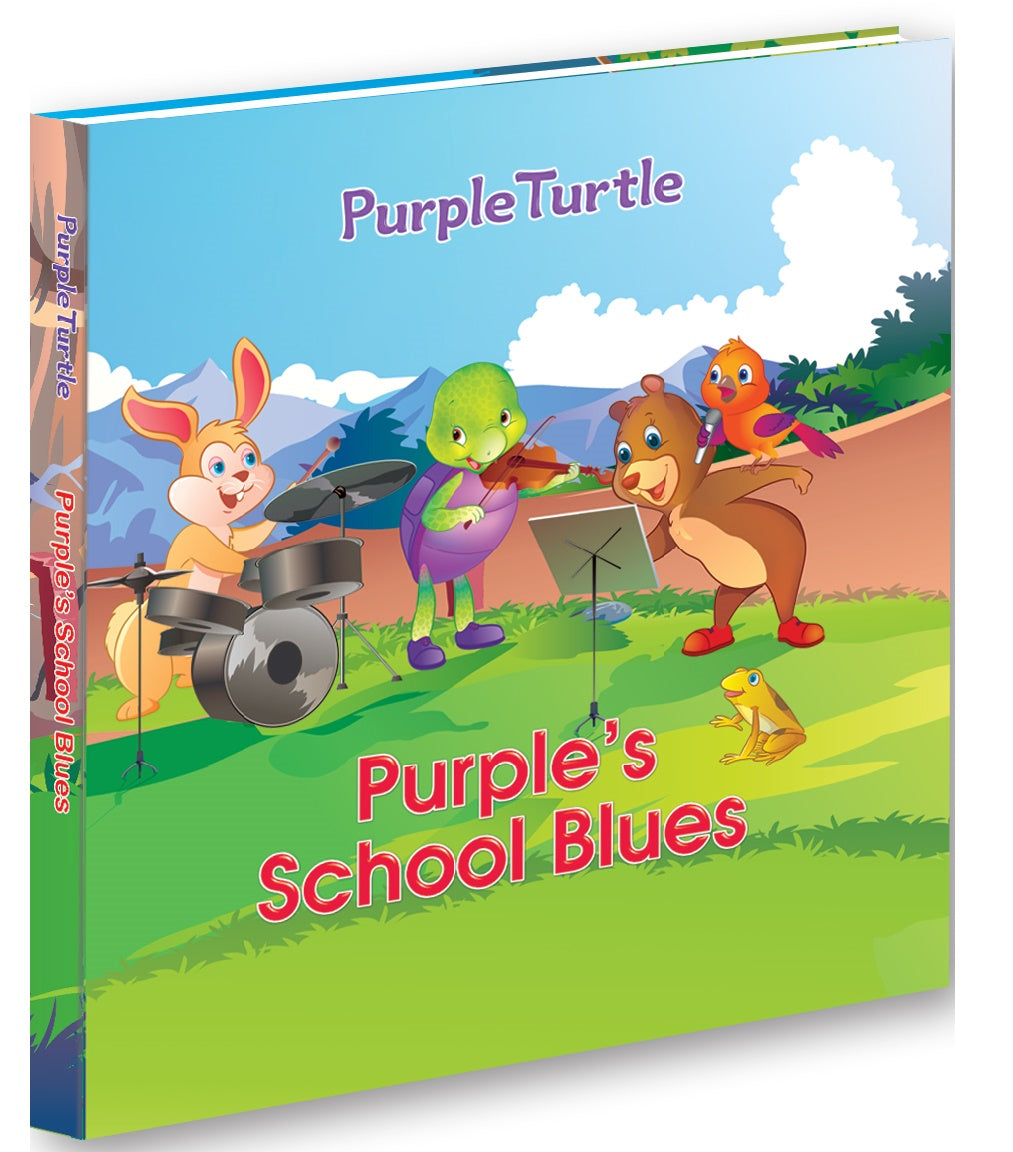 Purple's School Blues - Purpel Turtle