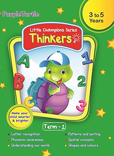 Purple Turtle Thinkers Level 1 Term 2 Course Book for Nursery Kids