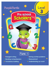 Load image into Gallery viewer, Purple Turtle Preschool Scholars Term 1 (Level 3)