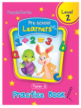 Load image into Gallery viewer, Purple Turtle Preschool Learners Term 2 Practice Book Level 2