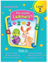 Load image into Gallery viewer, Purple Turtle Preschool Learners Term 2 Level 2