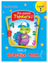 Load image into Gallery viewer, Purple Turtle Pre-school Thinkers Term 2 Level 1 Practice Book