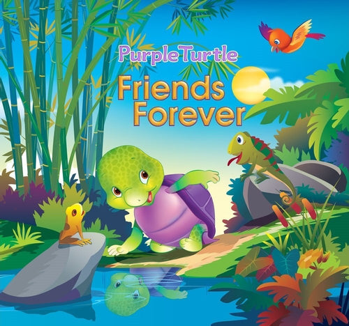 Purple Turtle - Friends Forever