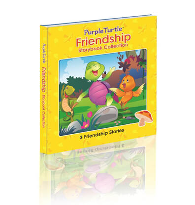 Purple Turtle Friendship Storybook Collection