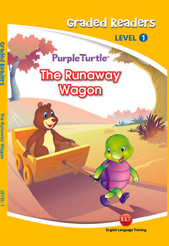 The Runaway Wagon - Purple Turtle