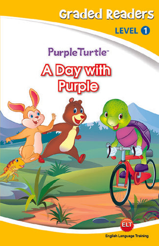 Purple Turtle Story Books