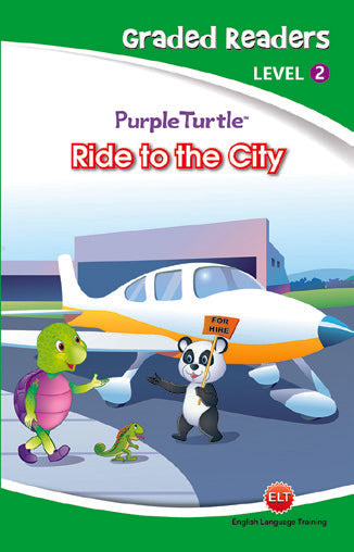 Purple Turtle - Ride to the City (Graded Readers Level 2)