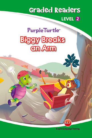 Purple Turtle - Biggy Breaks an Arm