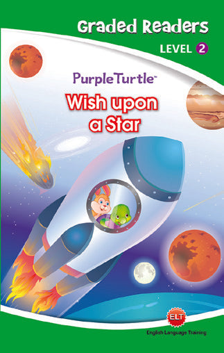 Purple Turtle - Wish Upon a Star