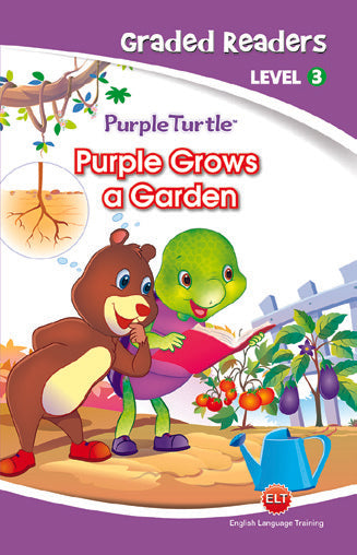 Purple Turtle - Purple grows a Garden