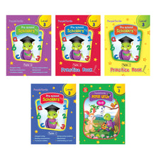 Load image into Gallery viewer, Purple Turtle Preschool Kit with Talking Pen Level 3 For UKG Kids