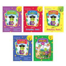 Load image into Gallery viewer, Purple Turtle Preschool books set for UKG kids Level 3
