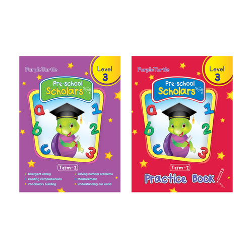 Purple Turtle Preschool Books for UKG