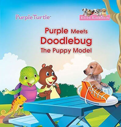 Purple meets Doodlebug The Puppy Model