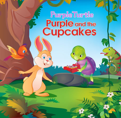 Purple Turtle - Purple and the Cupcakes