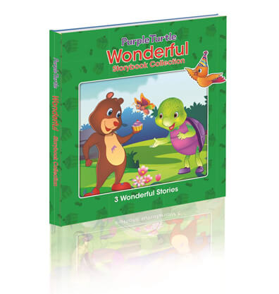 Purple Turtle Wonderful Story book Collection (3 in 1) Gift Set