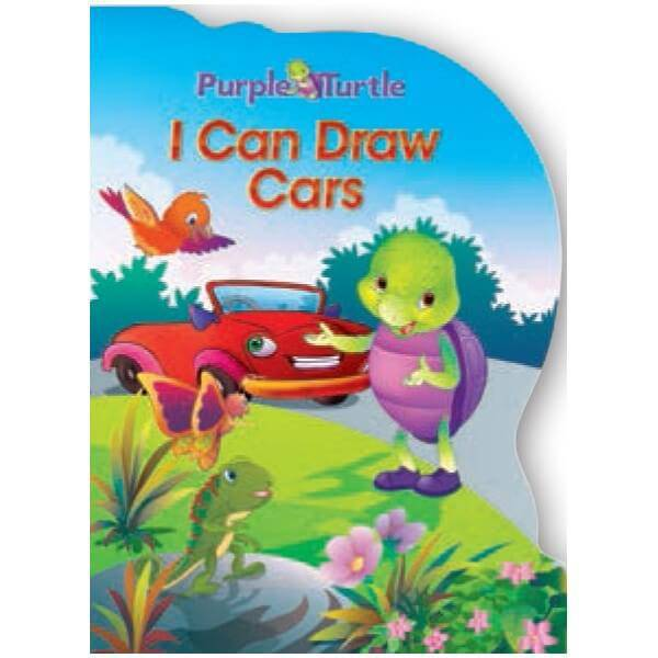 I Can Draw Cars - Purple Turtle