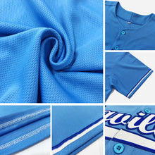 Load image into Gallery viewer, Custom Aqua Navy-Old Gold Authentic Baseball Jersey