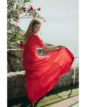 Load image into Gallery viewer, LOVE DRESS RED