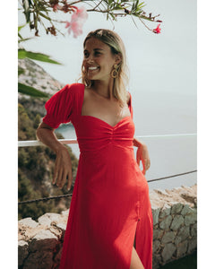 LOVE DRESS RED