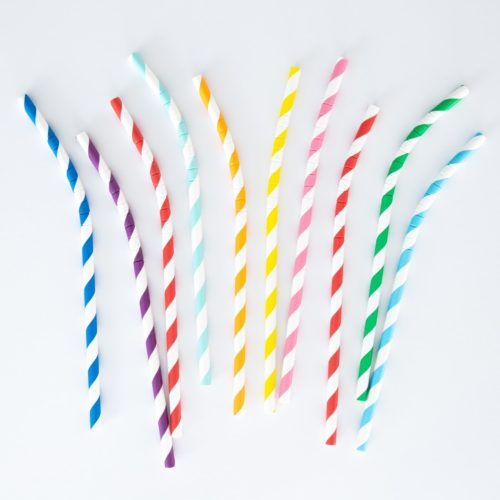 LONG LASTING BENDABLE STRAWS (SET OF 25)