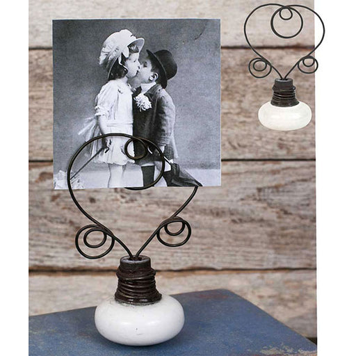 Vintage Doorknob Photo Holder - Box of 2