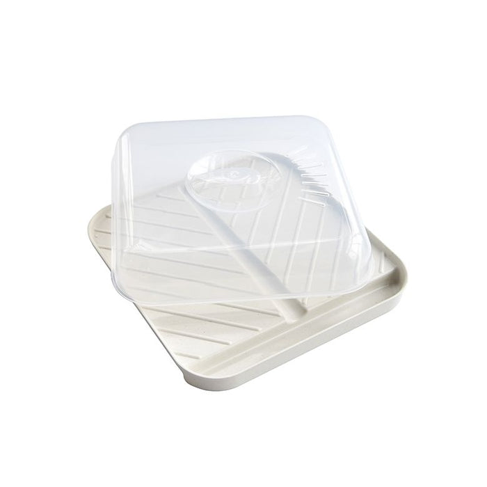 Medium Slanted Bacon Tray with Lid