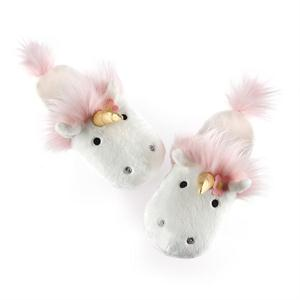 UNICORN SLIPPERS, ONE SIZE