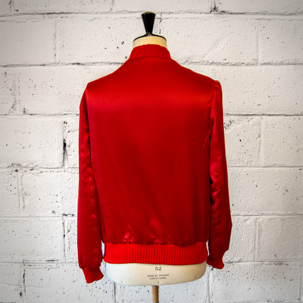 BOMBER BUTTON RED