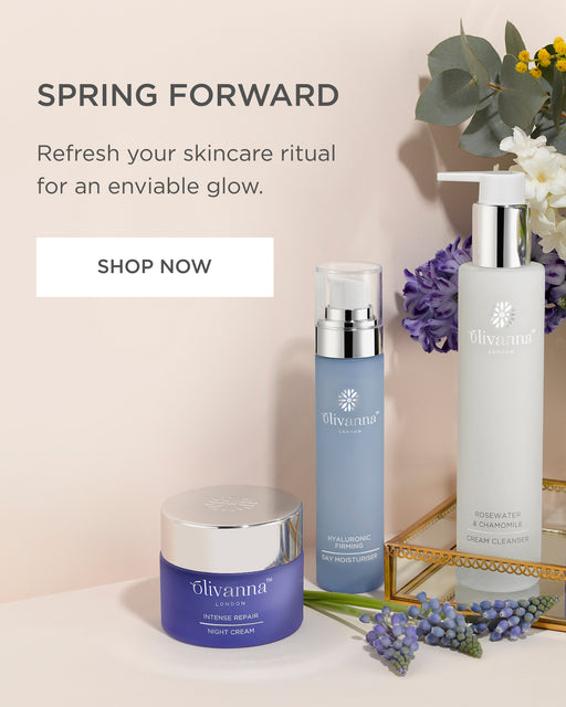 luxury vegan skincare range from olivanna london