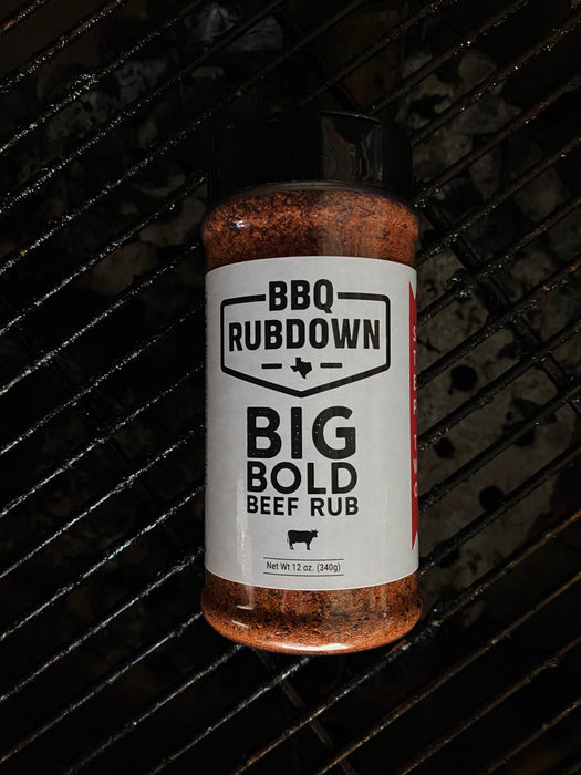 Big Bold Beef Rub - Step Two
