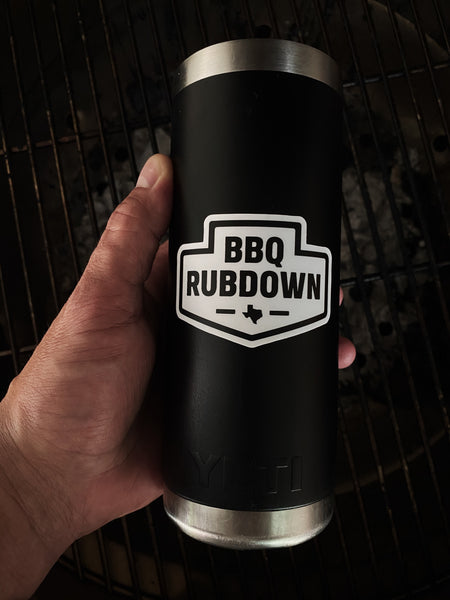 BBQ Rubdown Arrowhead Logo Sticker