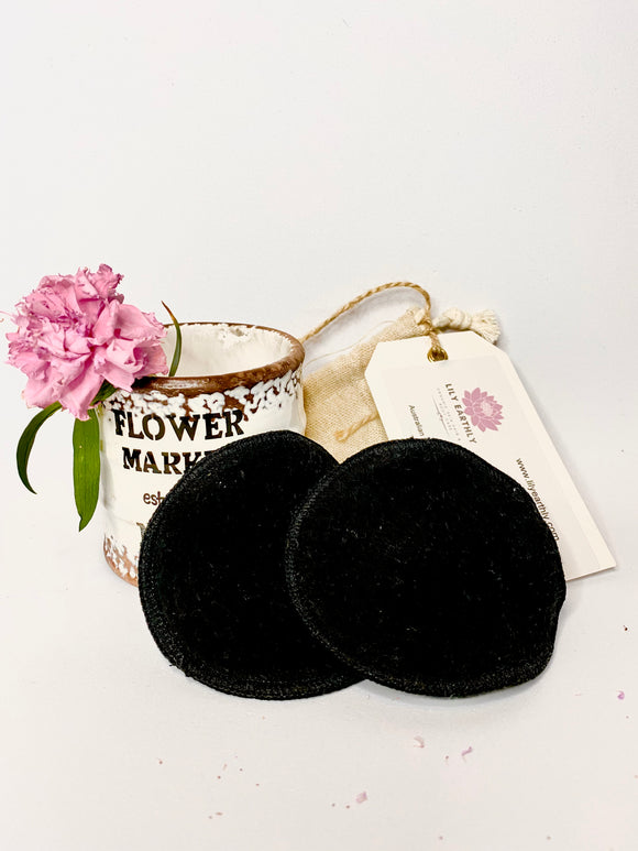 Hemp Reusable Make Up Face Pads- 2 pack